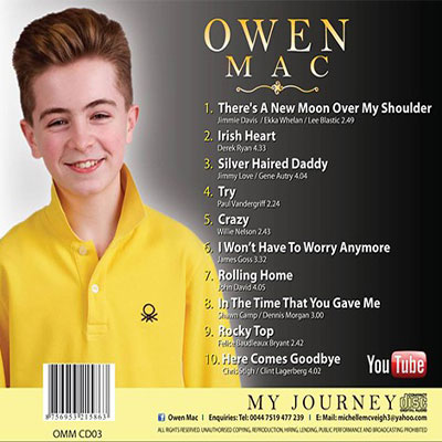 Owen Mac - My Journey