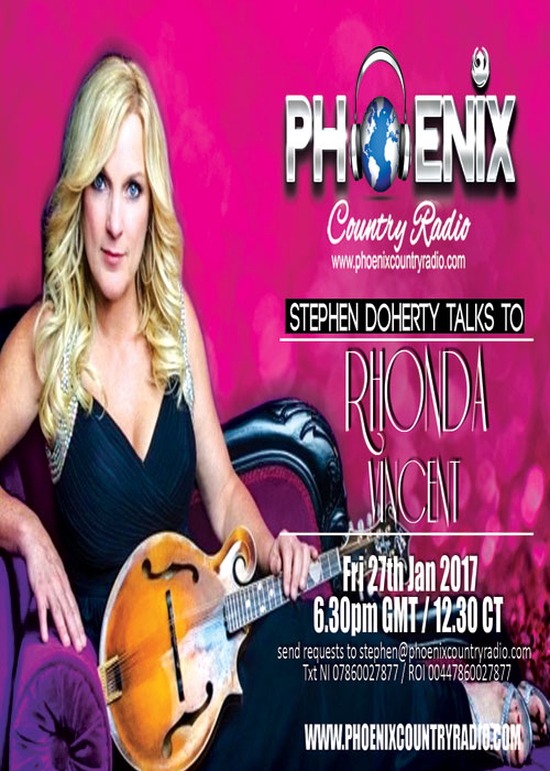 Rhonda Vincent Interview