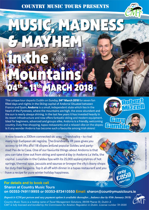 Music Madness & Mayhem In The Mountains