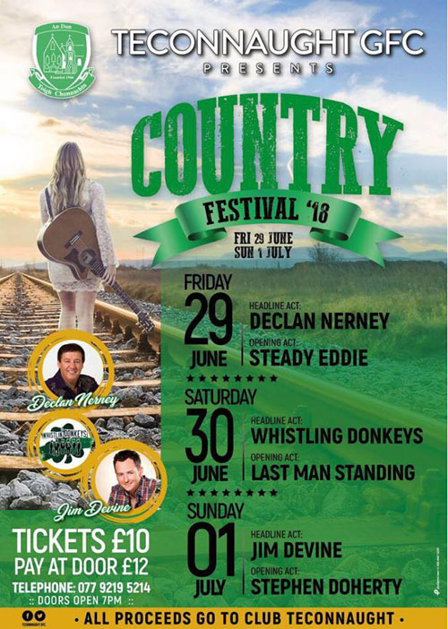 Teconnaught GFC Country Festival